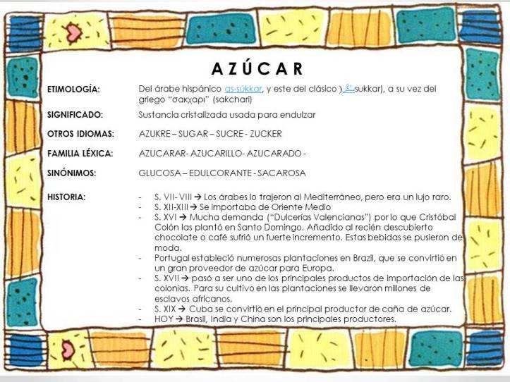 ejemplo azúcar